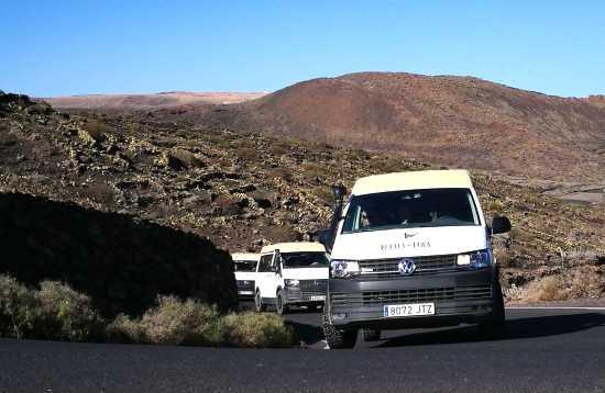4x4 bus & jeep safari het zuiden van Lanzarote