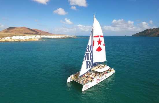 Catamarantocht Lanzarote Wij houden van La Graciosa
