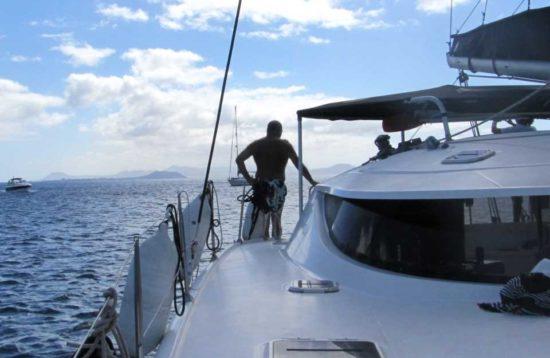 Catamaran zeiltocht Playa Blanca Lanzarote