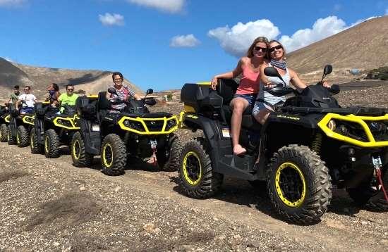 2,0 uur Outlander QUAD tour op Lanzarote