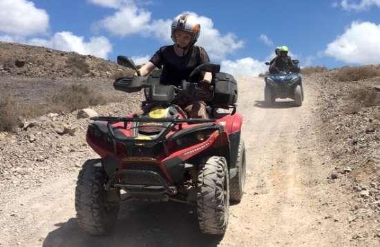 1 uur Quad tour vanuit Playa Blanca