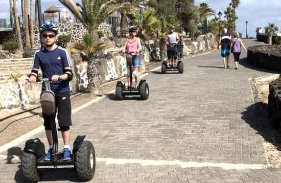 1,5 uur Segway Tour Playa Blanca Lanzarote