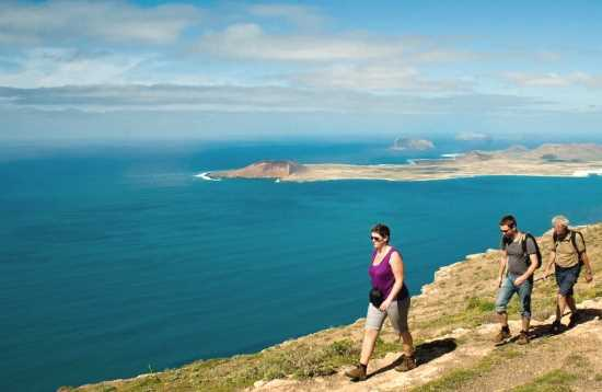 Wandeling vulkaan La Corona Lanzarote
